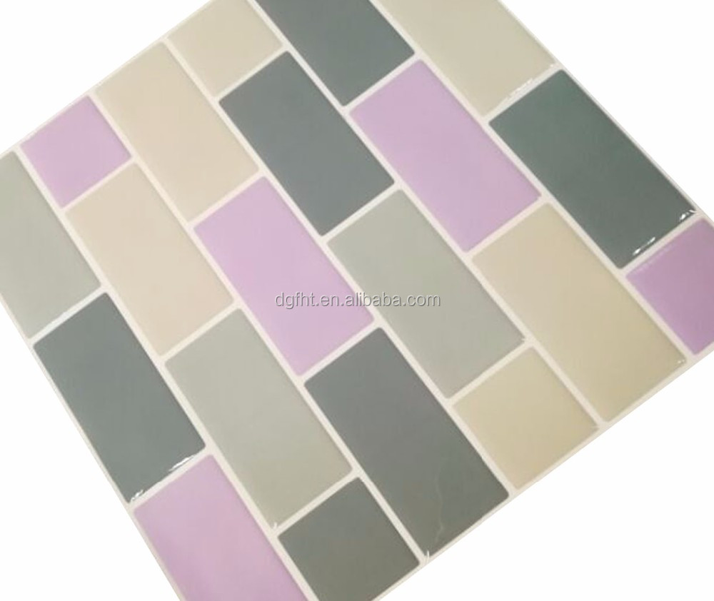 Mosaic Transfer Tiles Stickers Self Adhesive -Transform Bathroom Decal