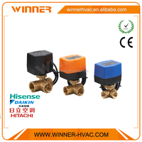 AC230V Solenoid Water Flow Control Valve with Electric Actuator