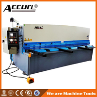New Accurl Hydraulic Shearing Machine 40 x 3200mm for Estun E21s NC Control System