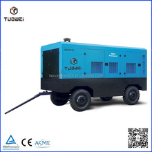 High efficiency portable diesel soure air compressor machine for sandblasting