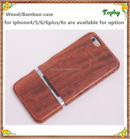 Top quality Wooden cell phone case for iphone 6 engraving, western case made by real wood for sales
