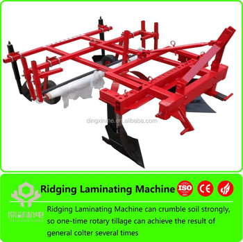 plastic laying machine