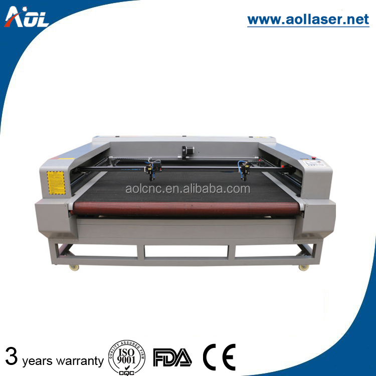 Fabric laser textile clothing cutting machine for auto feeding cutter price