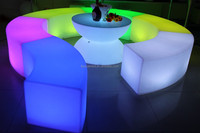 waterproof led cube chair lighting disco bar table led stool