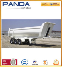 PANDA 30-60M3 Side/Rear Tipping Bodies Semi Trailer Dump Truck For Sale
