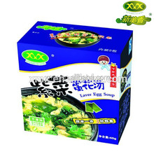 FREEZE DRIED INSTANT LAVER EGG SOUP(CUP)