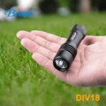 Brinyte DIV18 mini multifunctional underwater diving led flashlight with 14500 battery xm-L2