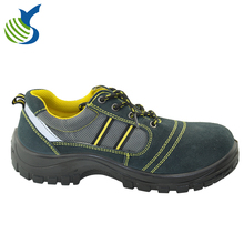 unisex sporty safety shoes genuine leather sport safety shoes double density
