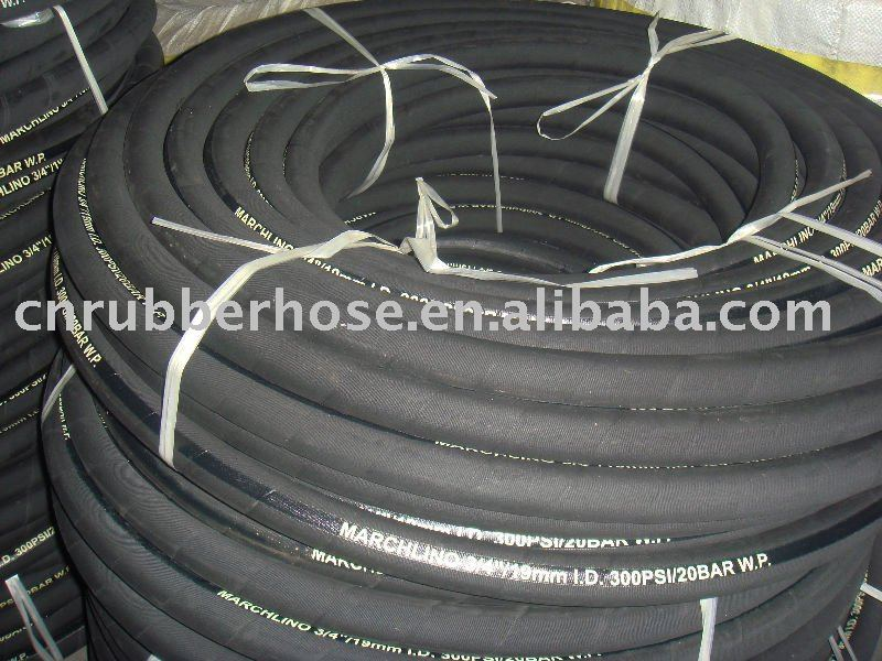 new product 2014 hot one OR two steel braid reinfacement hydraulic rubber hose/pipe/tube