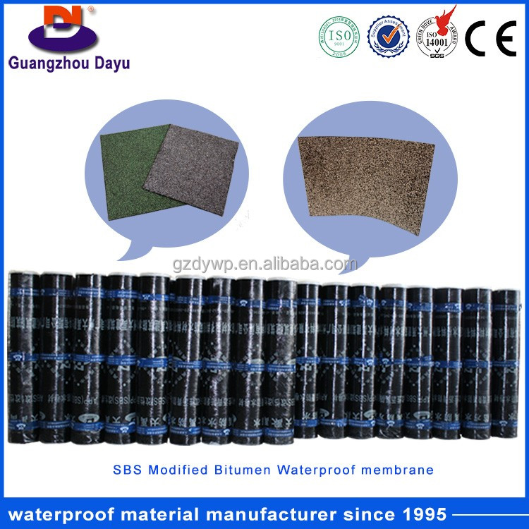 Low Cost High Quality Elastomeric Modified Bitumen Waterproofing Membrane