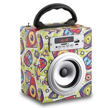 customized gift shower speaker for kids room