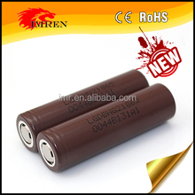 LG HG2 3000mAh rechargeable li-ion battery 18650 newsun lithium battery for provari e cigarette