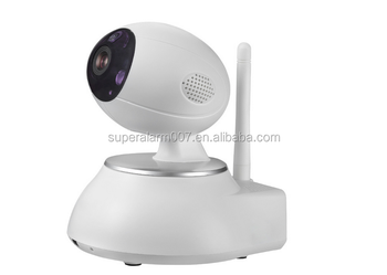 Wireless WIFI Pan/Tilt HD Wi-Fi Megapixel IP Camera, Controlled by App, Works with Alarm Systems