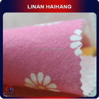 China supplier OEM high quality printing needle punched nonwoven fabric
