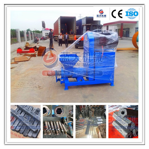 Renewable Energy Agriculture waste/ wood sawdust/wood logs briquette extrusion machine