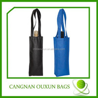 2014 wholesale new non woven wine bag for one bottle