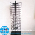 4 Way Spinner Metal Frame Floor Display Stand