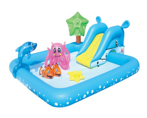 Bestway 53052 Aquarium water Play Center Pool kids inflatable water park paddling pool outdoor
