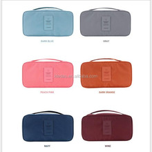 new fashion promotional Women Travel Bra Underwear storage bag Lingerie Cosmetic Makeup Storage Bag ladies cosmetic travel bag