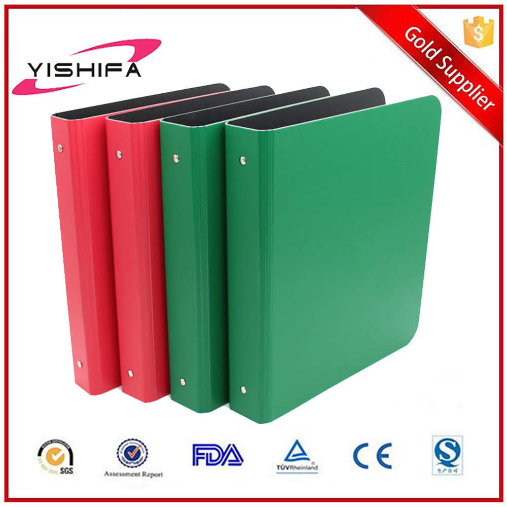 Eco-friendly PP stationery OEM factory PP plastic ring binder