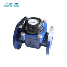 gsm system smart irrigation water meter ductile iron body