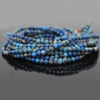 Bulk Wholesale Blue Sea Sediment Jasper Beads