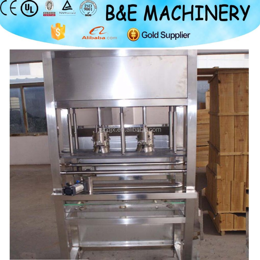 overseas service provided semi automatic 5 gallons bottle decapping machine equipment for auto line