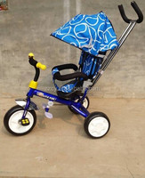 baby stroller/kids tricycle 3 in 1 with seat and sunshade factory wholesale