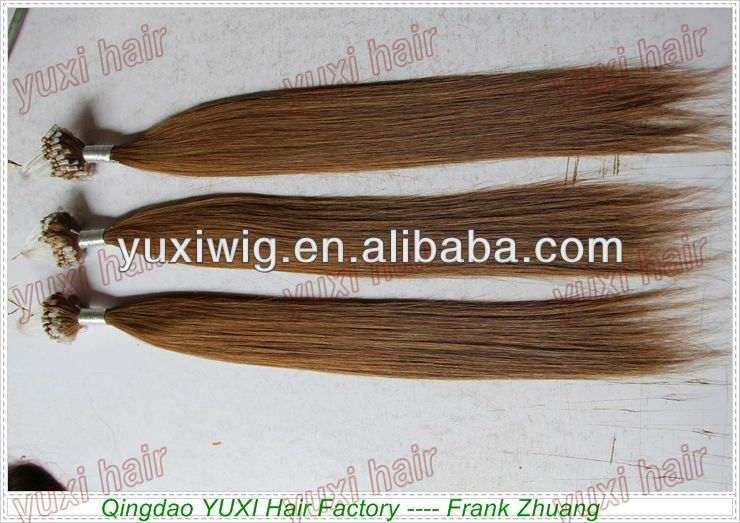 factory selling remy silicon micro ring human hair extensions