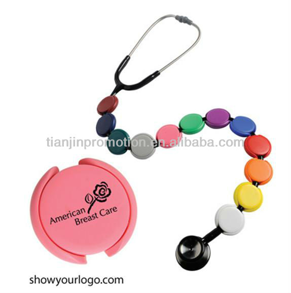 New style Round Stethoscope Name Tag