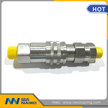 carbon steel plug and socket type quick disconnect hose coupling