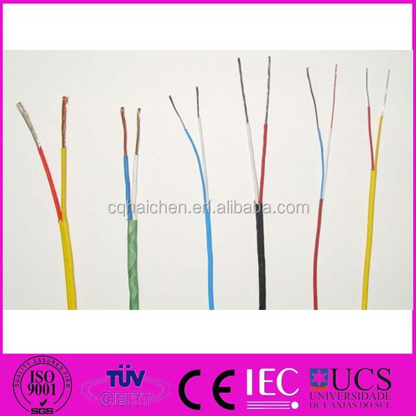 2 Wires RTD PT100 Thermocouples Sensor Extension Wire