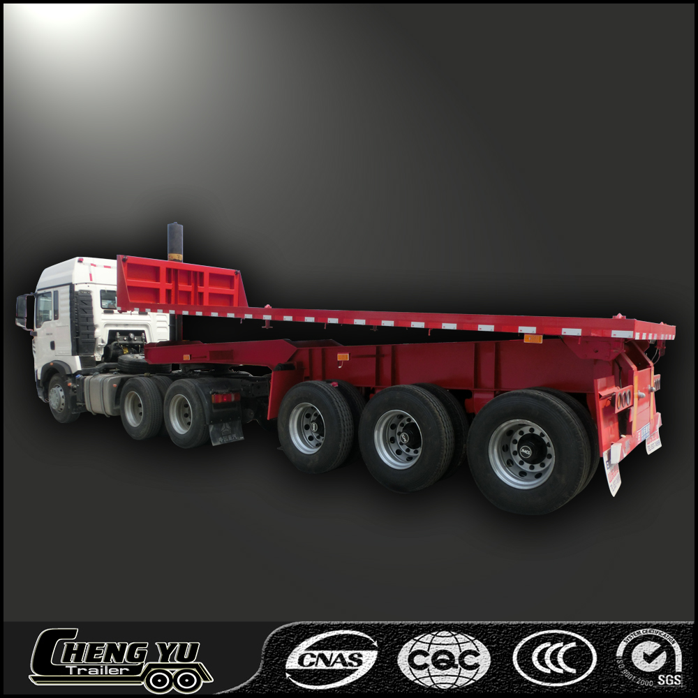 China good quality widely used dump semi trailer