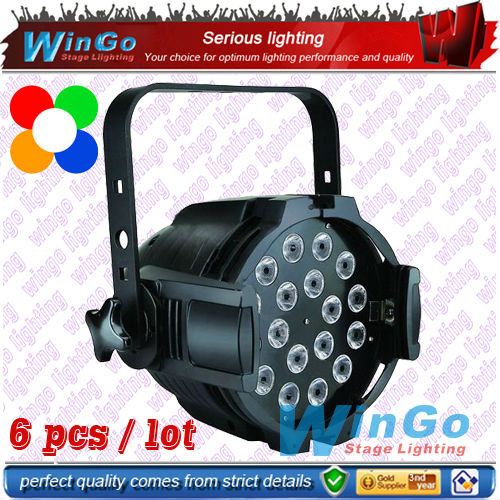 professional stage par lighting / dj lighting effects / 18pcs led par64