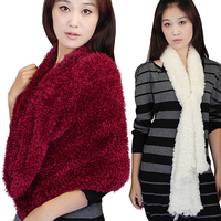 Hot Selling Plain Taiwan Nylon Polyester Woman Fashionable Magic Scarf