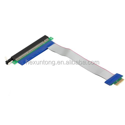 Wholesale 20CM PCI-E 1X TO 16X Flexible Extension Cable PCI Express 1 to <strong>16</strong> X Adapter PCI-E Extender Converter Riser Card
