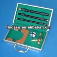 Aluminum black carrying top quality handy golf travel case at an affordable price