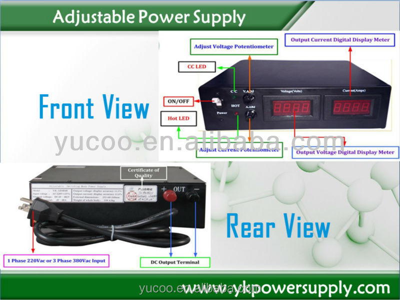 1500w constant voltage & current variable power supply