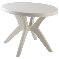 Top Sale Guaranteed Quality Leisure Plastic Round Table Price