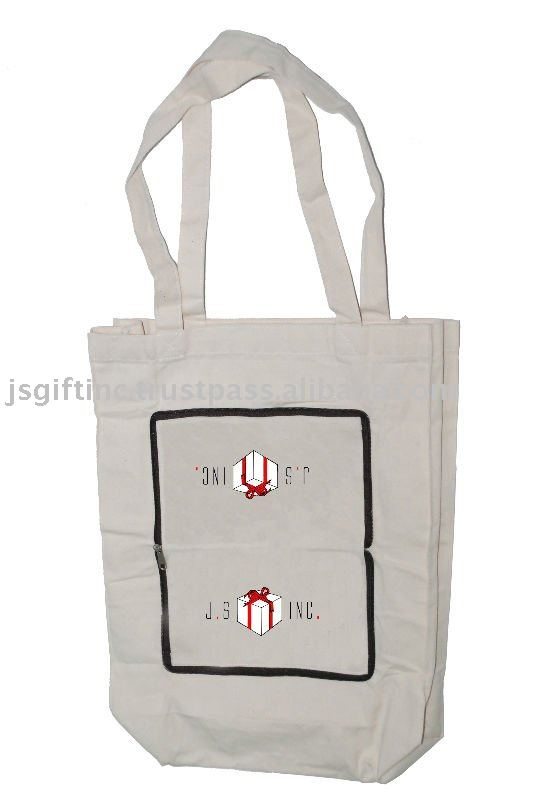 Foldable Canvas Bag for promotional gifts, Singapore, France, Canada