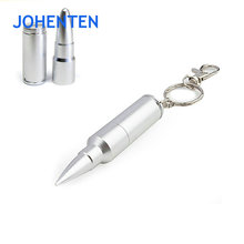 Waterproof Metal USB flash drive 4GB 8GB 16GB stainless steel U Disk silver