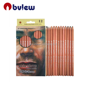 12color Skin-Tints pastel color pencil drawing pencil set