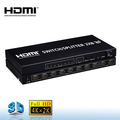 Version 1.4 hdmi splitter 2x8, with 2 input 8 output support 3d