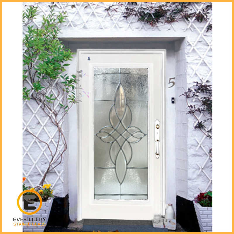 custom stained glass door panels houston