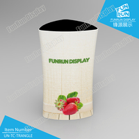 New Tension Fabric Tube Display Promotion Counter