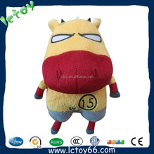 Customized cute stuffed soft fat plush sheep toy for kids