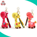 custom stuffed giraffe toy plush giraffe keychain
