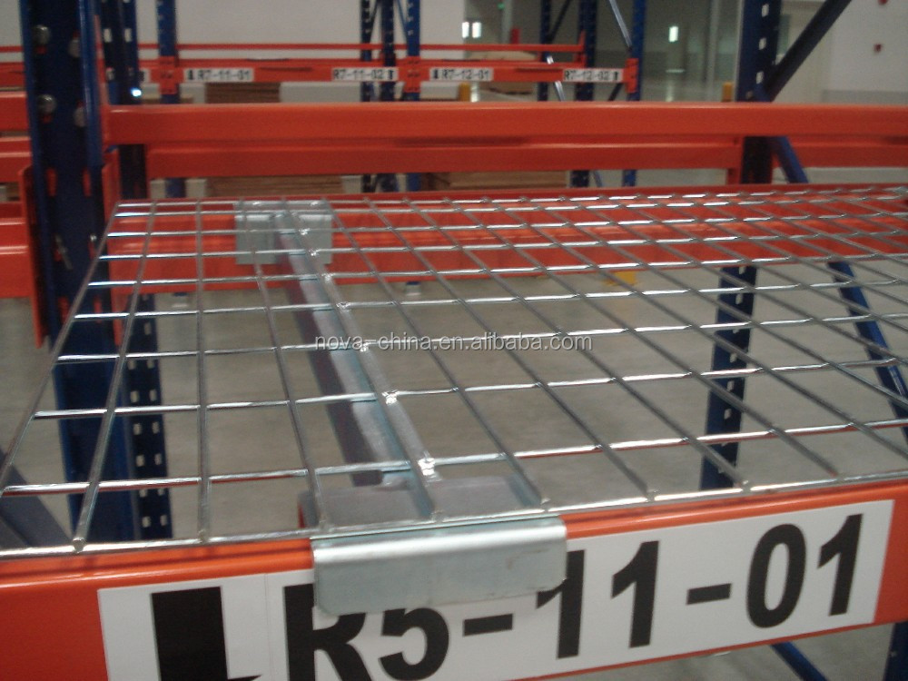 Wire Mesh Pallet Rack( Professional design drawing provided)