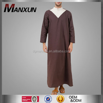 Islamic cothing arabic men thobe jubba for men