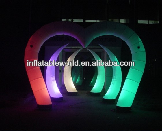 2014 NEW LED inflatable cone